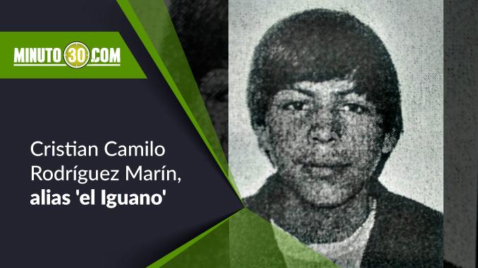 Cristian Camilo Rodríguez Marín, alias 'el Iguano'