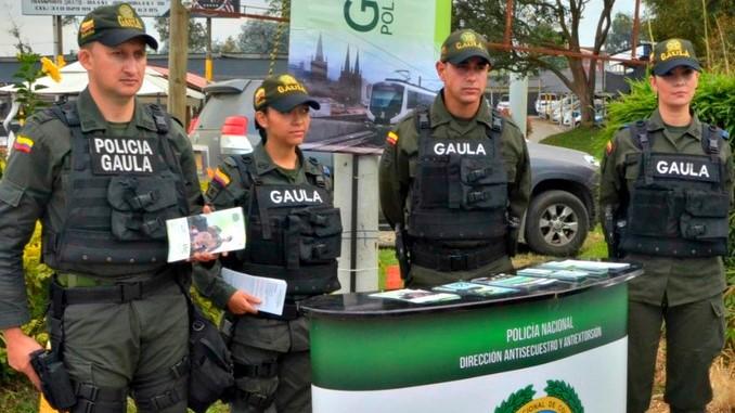 Resultado de imagen para Campaña Gaula de la Policía