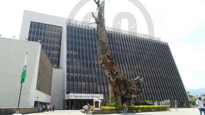 La Gobernaciónde Antioquia.