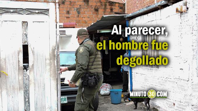 Asesinado en un parqueadero de Calasanz.
