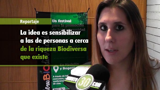 Carolina Gastón - Vocera Festival Colombiodiversidad. Foto/Minuto30
