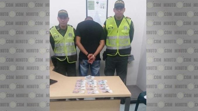 Capturado por robo en Calasanz.