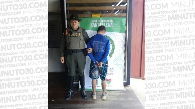 Capturado en Santa Elena.
