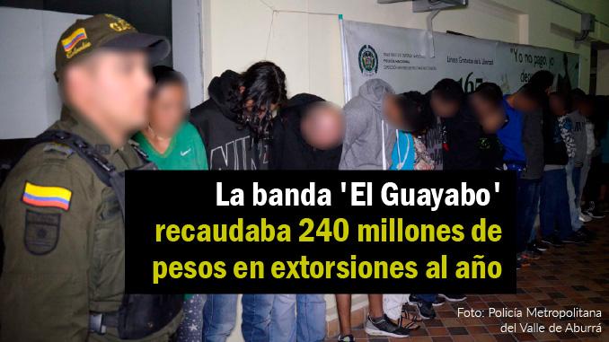 capturados de la banda el guayabo destacada