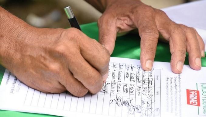 Gobernación de Antioquia inició firmatón en Belén de Bajirá