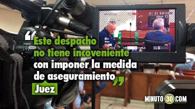 Las razones del juez para imponer medida de aseguramiento contra Gustavo Villegas y Mariano Zea