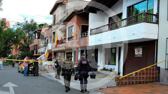 Ataque El Trianon casa alcalde Narino