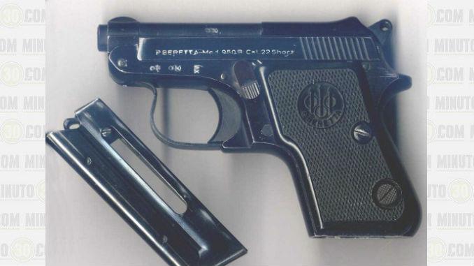 arma de fuego tipo pistola, marca Prieto Beretta