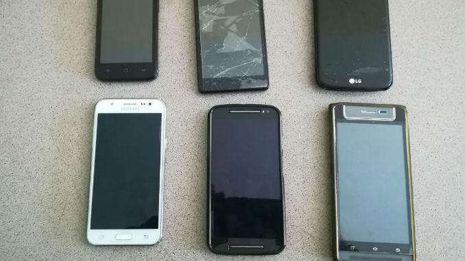 Telefonos celulares robados Mebog