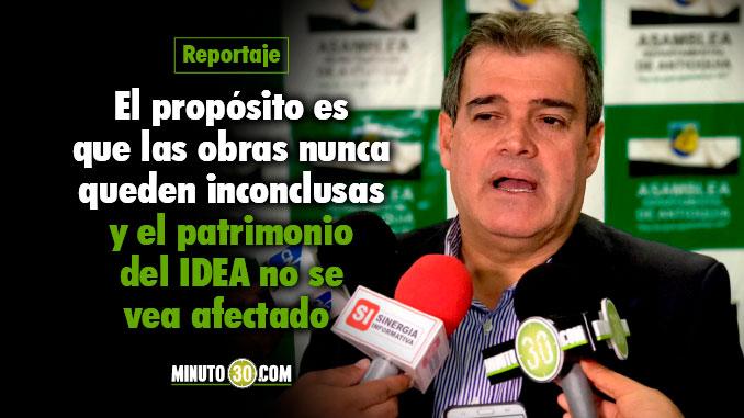 Rubén Darío Callejas - Diputado de Antioquia. Foto/Minuto30