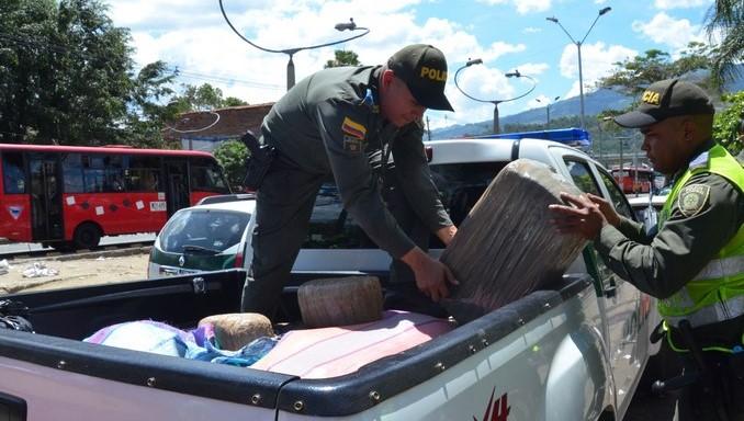 En hechos aislados las autoridades capturaron a dos personas en situación de calle e incautaron droga