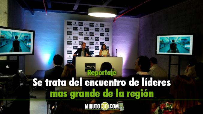 Presentación WOBI on Leadership Medellín. Foto/MInuto30