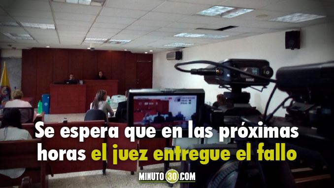Audiencia juicio caso Space, Juan Esteban Cantor