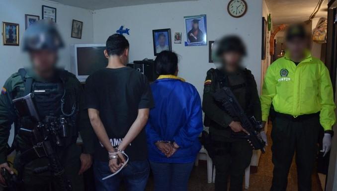 Cayeron 21 presuntos miembros de la organización criminal 'San Gabriel'