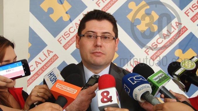 Raúl González Flechas, director seccional de Fiscalías de Medellín