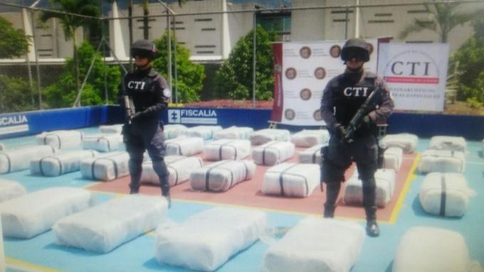 Autoridades incautan droga en Bello 2
