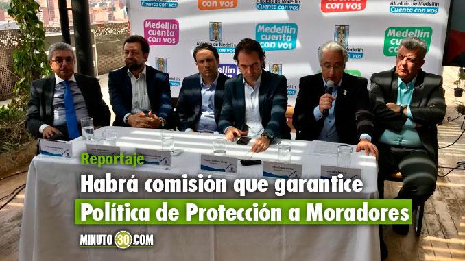 Rueda de prensa presentación adjudicación Metrocable del Picacho. Foto/Minuto30