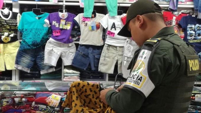Mercancía Incautada de contrabando 2