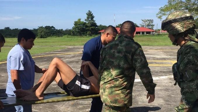 Ejército evacuó a soldado enfermo hasta la ciudad de Arauca