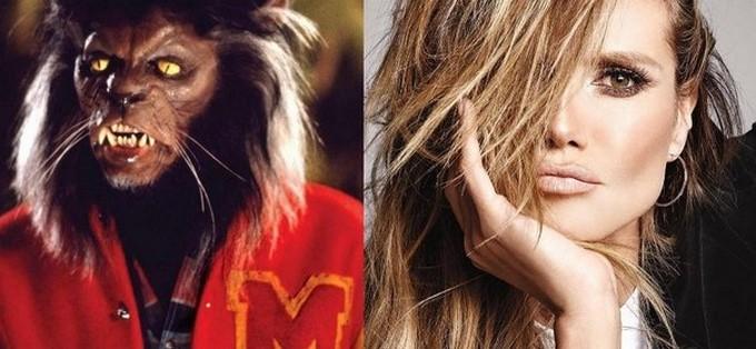 "Michael Jackson en ""Thriller"" y Heidi Klum/ Tomadas de Youtube: michaeljacksonVEVO  e Instagram: @harpersbazaarsg"