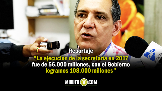 Jaime Garzón Araque - Secretario Infraestructura Antioquia . Foto/Minuto30