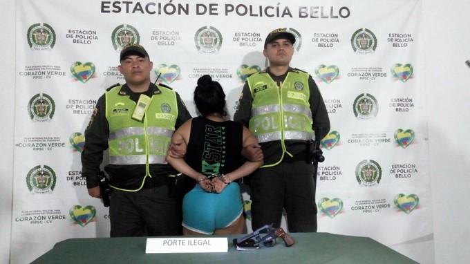 Capturada por las autoridades