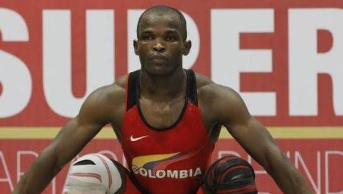 el pesista olímpico Edwin Orlando Mosquera