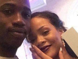 Rihanna y su fallecido primo/ Tomada de Instagram: @badgalriri