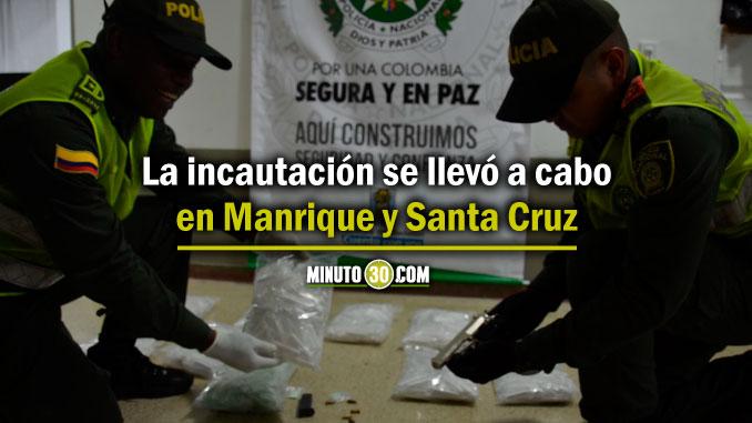 678 La incautacion se llevo a cabo en Manrique y Santa Cruz