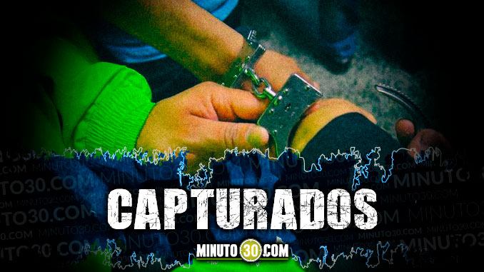 capturados detenidos