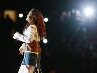 La cantante barbadiense Rihanna en un concierto. EFE/Archivo