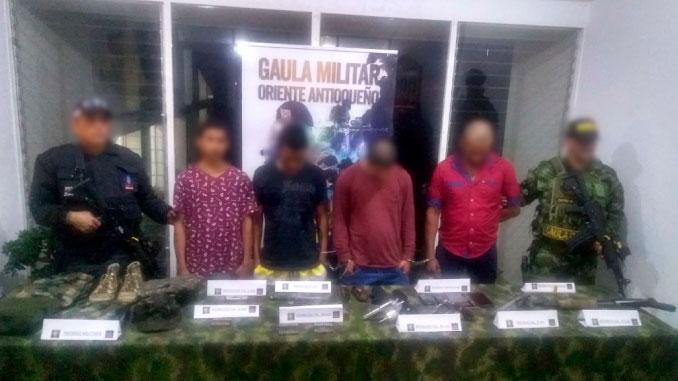 Los aseguraron por secuestrar a nueve personas en el municipio de San Luis