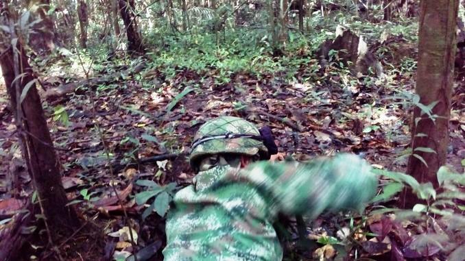 Ejército destruyó controladamente una mina antipersonal instalada por disidencias de las Farc