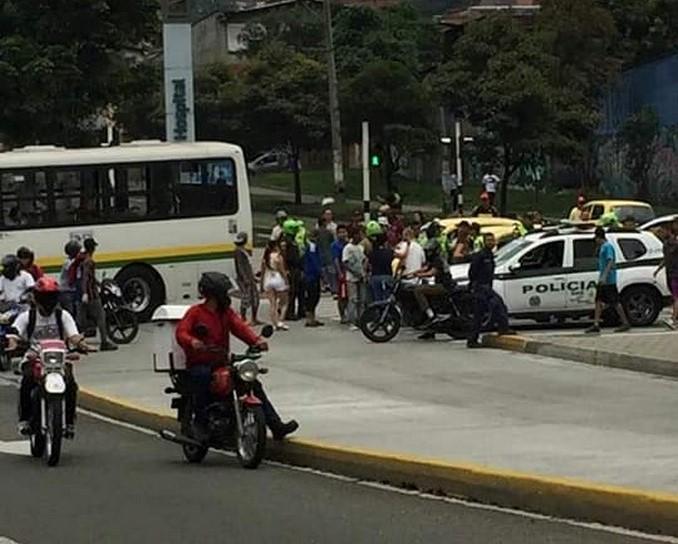 Rápida reacción policial permitió la captura de tres presuntos ladrones en el centroriente de Medellín