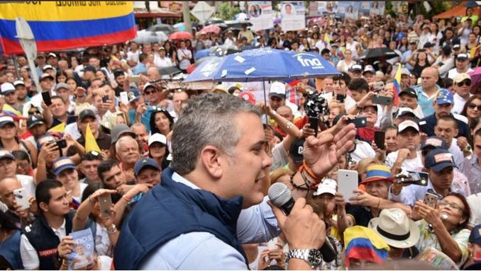 Así fue el recorrido de Iván Duque por Medellín, Sabaneta y Bello