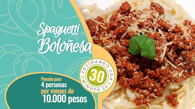 Destacada Spaguetti Bolognesa