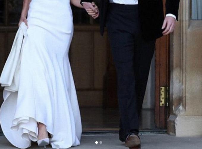 fue un barranquillero el que le diseñó los zapatos de boda a la