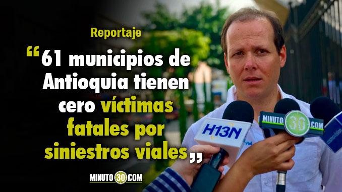 Medellin y Antioquia os lugares que mas vidas han salvado por siniestros viales
