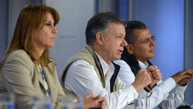 """Como """"absurdos"""", así calificó Santos los señalamientos sobre corrupción en el SENA"""