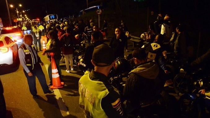 201 comparendos tras operativo contra piques ilegales en Las Palmas