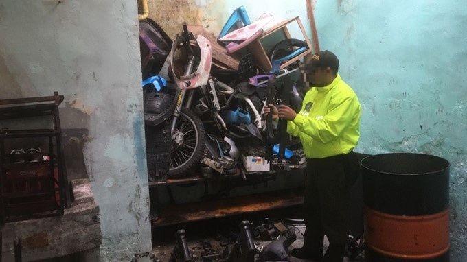 Fotos Talleres Y Almacenes De Motos Fueron Sellados Por Las