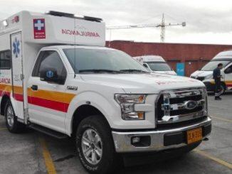 Nuevas ambulancias Bogotá