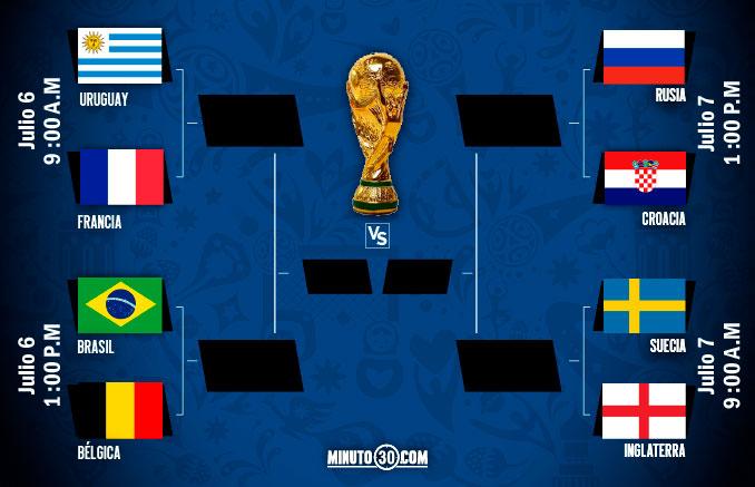mejor selección varios diseños auténtico Así quedan los emparejamientos de cuartos de final de Rusia ...