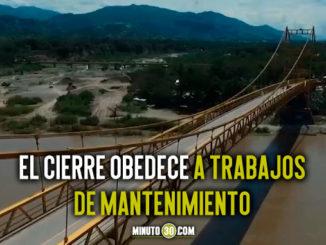 Durante tres fechas habrá cierre total del puente Paso Real en Santa Fe de Antioquia