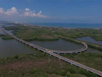 Este sábado Santos entregará en Cartagena las obras del viaducto más extenso del país