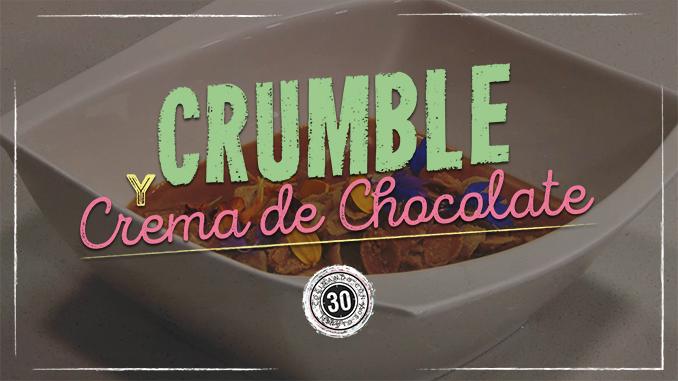 678 portada Crumble y crema de chocolate3