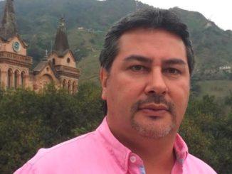 El alcalde de Barbosa, Edison Restrepo García