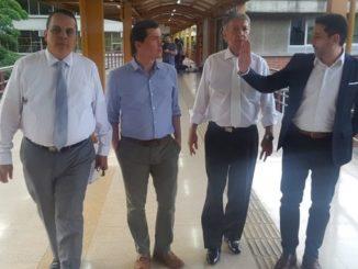 Secretarios del despacho de la Alcaldía visitaron el Politécnico Jaime Isaza Cadavid