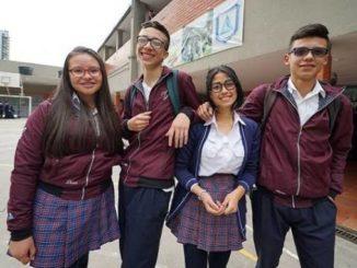 estudiantes, alumnos, colegio, Bogotá
