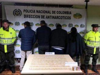 Cayó familia que pretendía transportar heroína hacia Ecuador